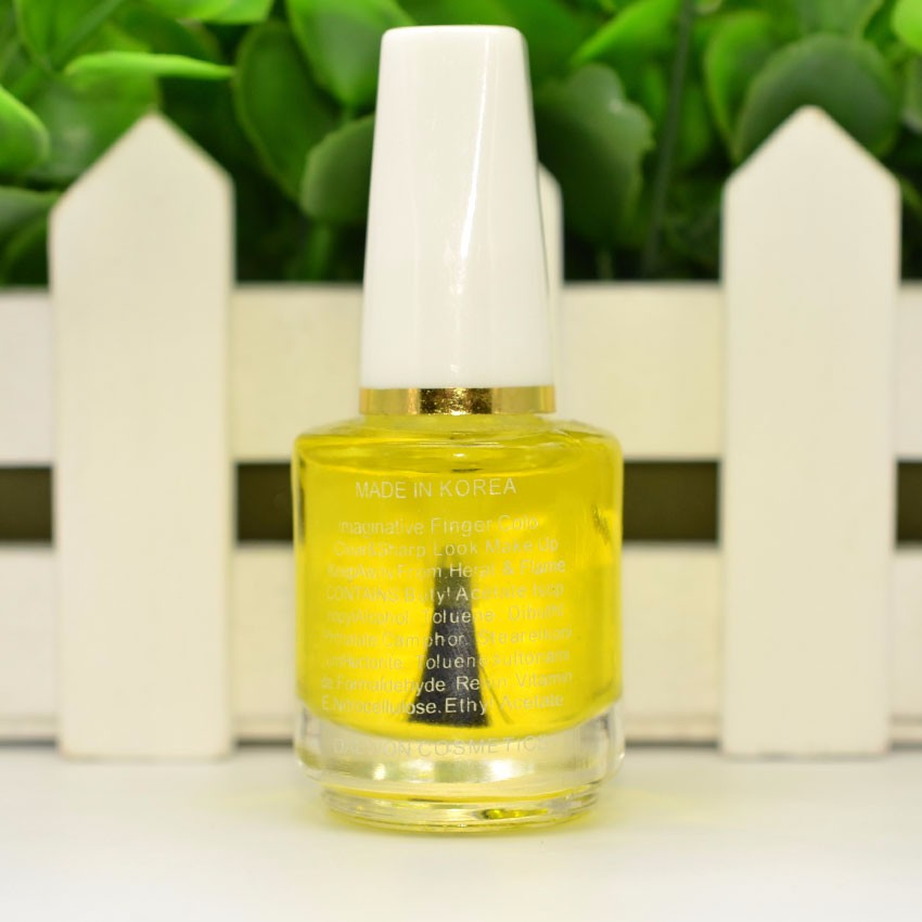 1PCS X 15ml New Cuticle Revitalizer Oil yellow Nail Art Treatment Manicure Soften Pen Tool Nail cuticle Oil