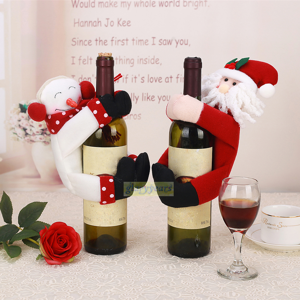 Buy 2015 new towel bottle cover christmas - Manualidades faciles de hacer en casa ...