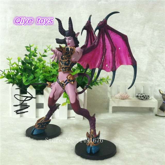 WOW Figure Toy DC Banshee / Succubus Mages 20CM PVC Action Figure Classic Toys For Boys Collection Model 4