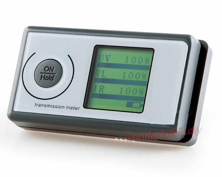 3in1 IR/UV/VL Solar Film Transmission Meter Tester Light Transmittance Meter LS1603in1 IR/UV/VL Solar Film Transmission Meter Tester Light Transmittance Meter LS160