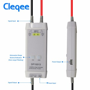 Image 5 - Cleqee DP10013 Oscilloscope Probe Accessories Parts 1300V 100MHz High Voltage Differential Probe kit 3.5ns Rise Time