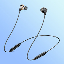 S10 Bluetooth Earphone Wireless Headphone For Phone IPX5 Dual Driver Headset With Mic Sport Earbuds Casque fone de ouvido(China)