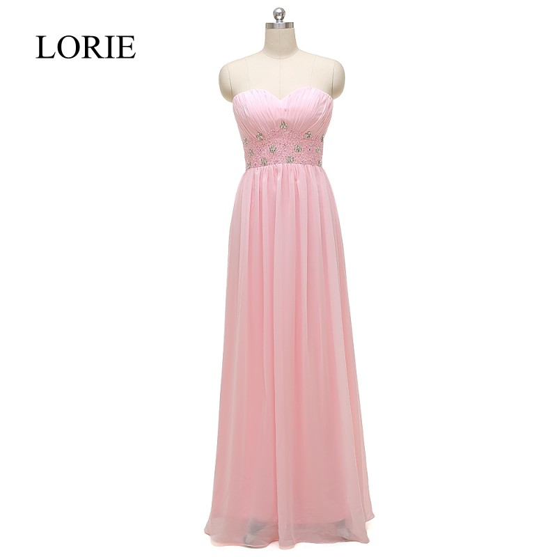 Real Pink Prom Dresses 2016 Vestidos De Gala Sweetheart Empire Waist Beaded Elegant Women Formal Evening Gowns Party Dresses