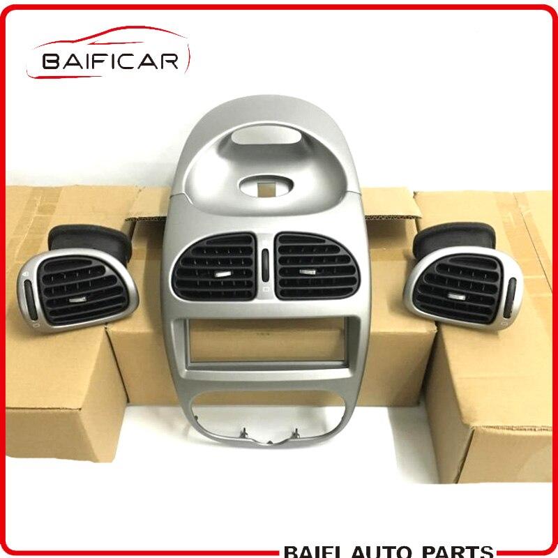 Onafhankelijk Baificar Gloednieuwe Echt Zilverkleurige Instrument Pancel Dashboard Cover Air Vent Duct Panel Voor Peugeot 206 206cc Citroen C2 Mooi Van Kleur