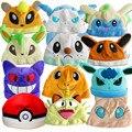 New Arrive Pokemon Pikachu Plush Cute Hat Irbesartan Jigglypuff Gengar Pokemon Go Anime Hat For Child Warm Hats Free Shippin