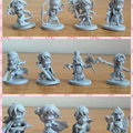 11PCS Running Arcadia Group Arcadia Quest Exploration character models figure anime action send in random collectuion