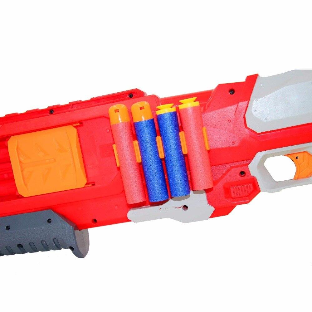 60Pcs Dart Bullet Soft Bullet EVA Bullet For Nerf Mega Centurion Refill Toy Gun