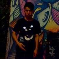 2017 new fashion summer t shirt cotton comfortable t shirt clothing Luminous T shirt LED clothing MVNS T0013