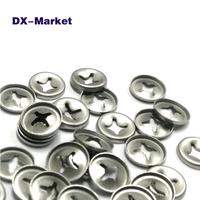 M3 M26 Bearing Washer 304 Stainless Steel Metric Toothed Lock Washers