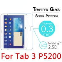 9H 2.5D Ultra Thin HD Tempered Glass For Samsung Galaxy Tab 3 10.1 P5200 Screen Protector Guard Film For P5210 Premium Glass premium screen protector for samsung galaxy s6 s7 a6 a8 j4 j6 plus 2018 tempered glass guard film for j3 j5 j7 2017 cover 2 5d