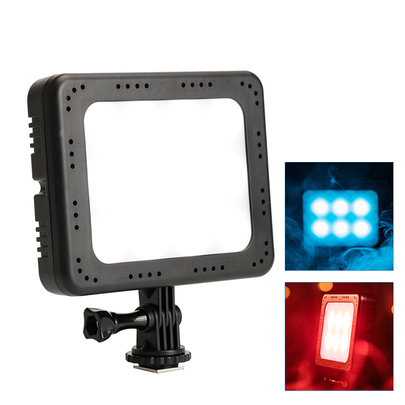 Ulanzi Zifon RGB Photography Lighting 300 Colors 5700K CRI 96 with LCD Display LED Video Light for Nikon Canon DSLR Camcorder mcoplus color video light white rgb led photography light 300 different colors 1500lm 5700k ra96 photo studio video light