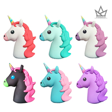 Portable Power Bank 8000mAh Universal Unicorn Mini Cute PowerBank 18650 Battery Charger Cargador Portati For ipad