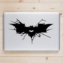 Crack Batman Symbol Laptop Sticker for Apple Macbook Decal Pro Air Retina 11 12 13 14