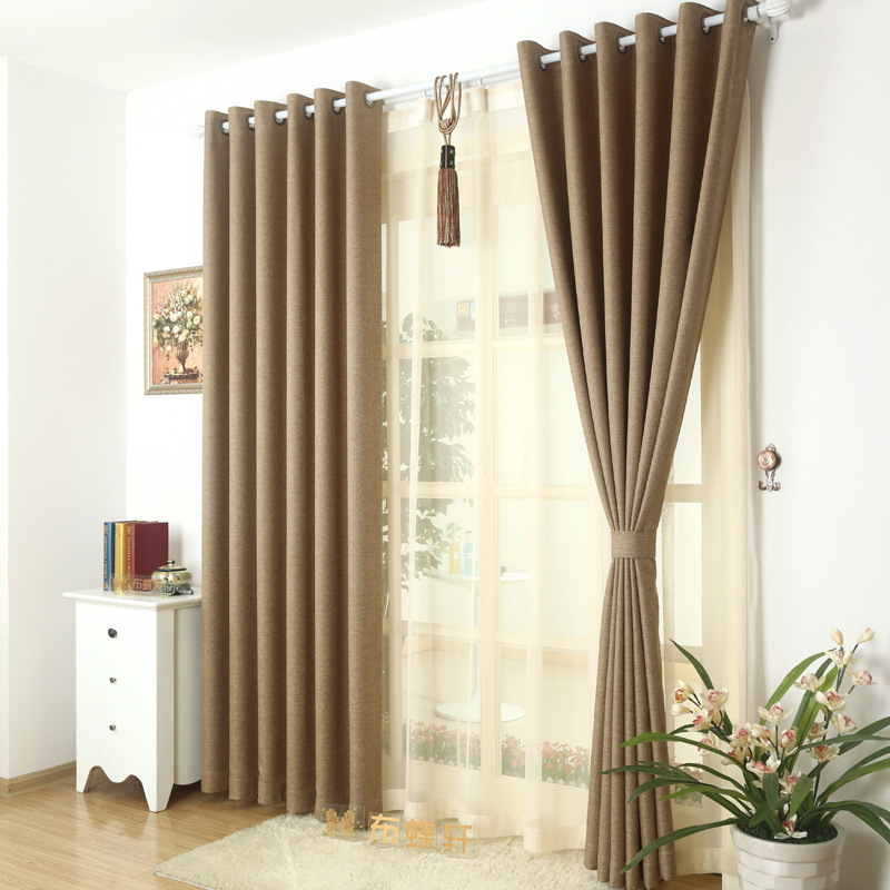 Buy high end green linen whole sitting for Hotel drapes for sale
