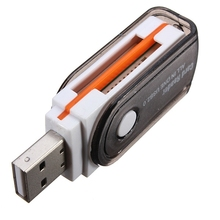 USB 2.0 Memory Card Reader Adapter All In One for Micro MS M2 SD TF MMC Memory Card For PC Laptop Memory Card Reader
