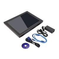 15 Inch Ultra Thin Lightweight TFT LED Screen Display Touch Screen Monitor Exquisite Shell for Restaurant Retail Bar Pub