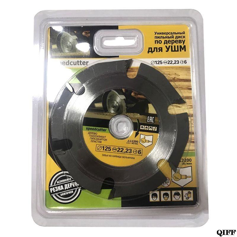 125mm 6T Circular Saw Blade Multitool Grinder Saw Disc Carbide Wood Cutting Disc Carving Blades For Angle Grinders
