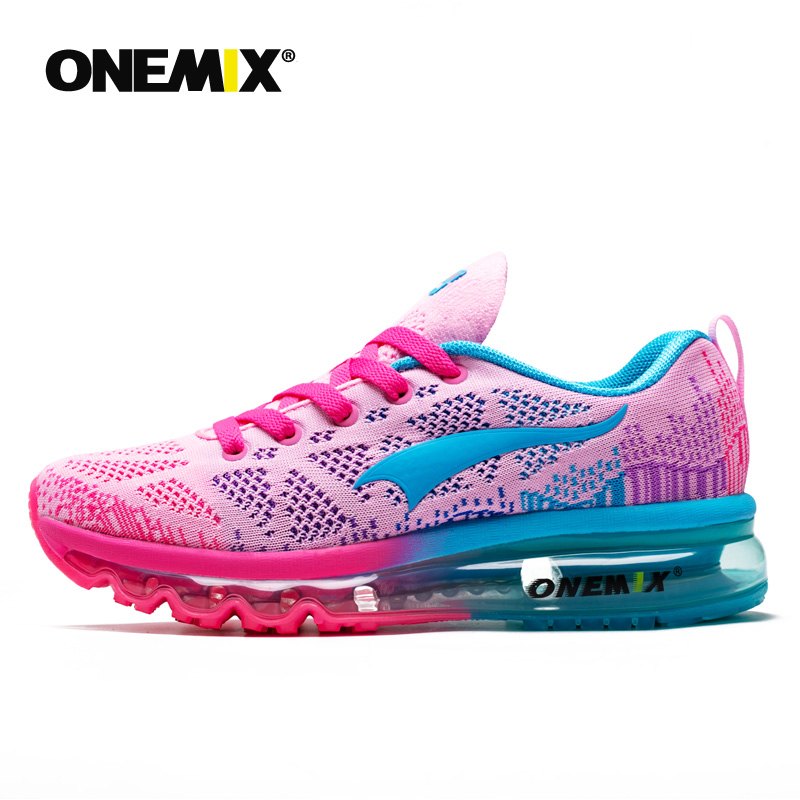 Onemix women s sport running shoes music rhythm for lady sneakers breathable mesh outdoor athletic shoe