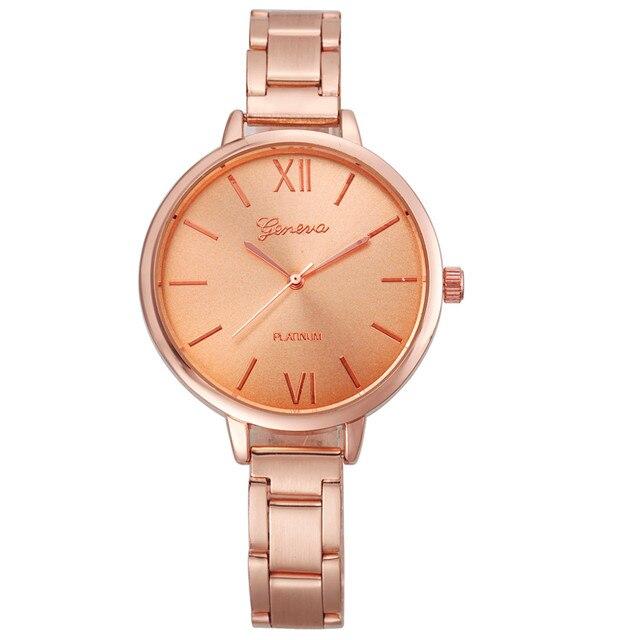 Unisex women's watches Minimalist Style Quartz Watch relogio feminino saat Watch