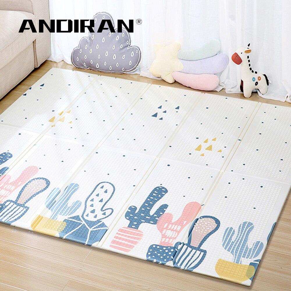 XPE bébé tapis de jeu ramper Pad pliant épaississement Protection de l'environnement ménage enfants tapis de sol