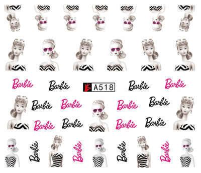 Nail Sticker Water Decals Cool Sexy Girl Nails Slider Art design Decoration Tattoo Manicure Foil Adhesive Wraps Pegatinas Polish