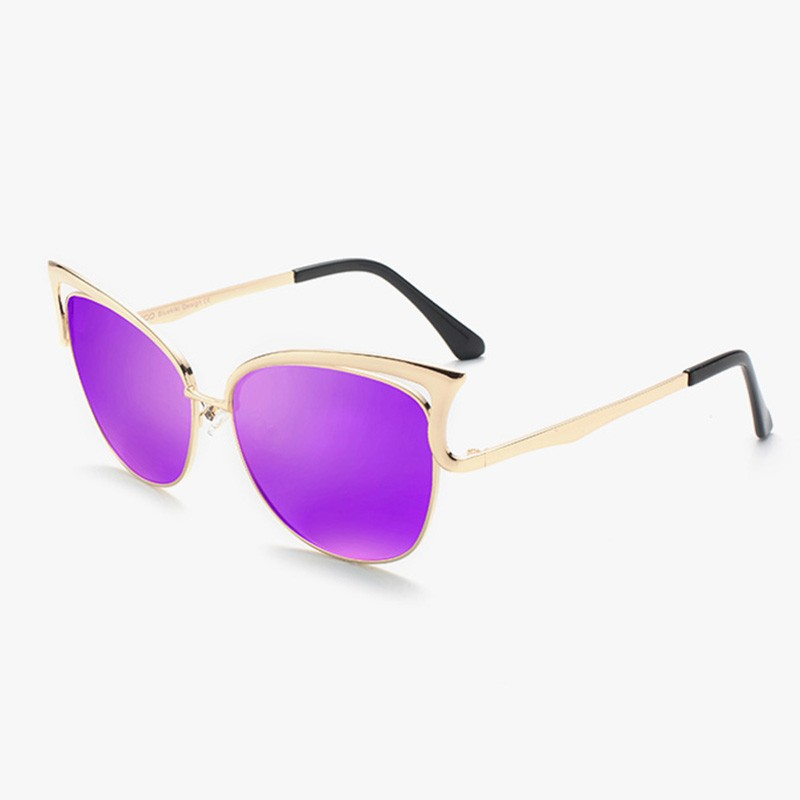 HTB1AewfSFXXXXbJXVXXq6xXFXXXy - KIKI Women Sunglasses Polarized Retro Cat Eyes Metal Driving Gold Sun Glasses Brand Designer UV400 oculos de sol feminino