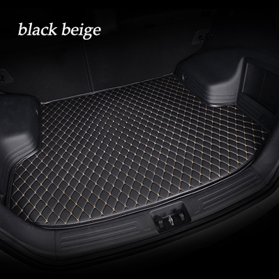 New Car Sticker Cover Car Trunk Mats Waterproof Boot Carpets Cargo Liner For Maserati Granturismo Quattroporte Ghibli Levante