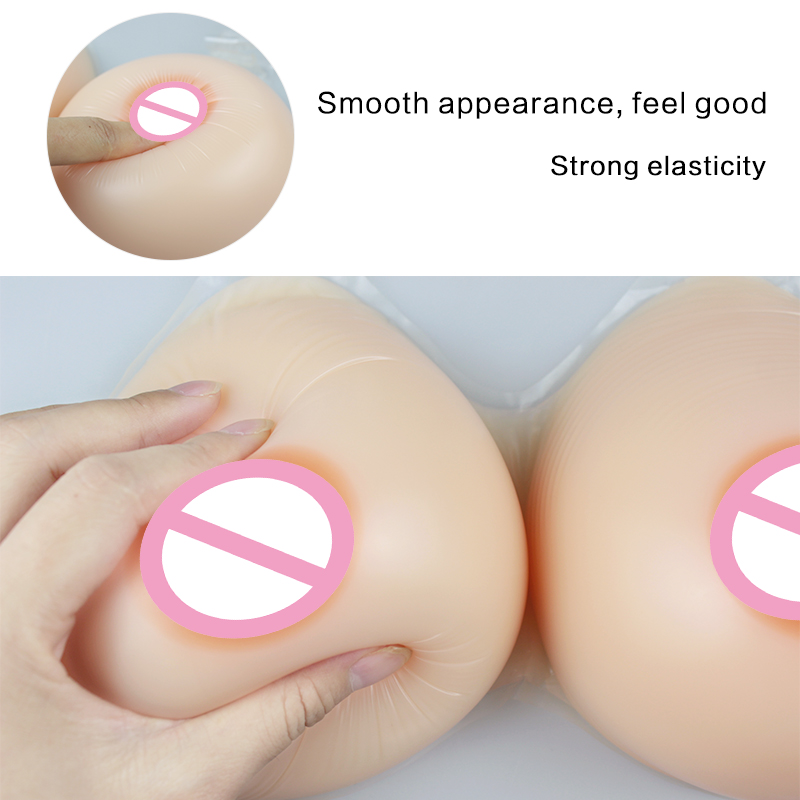 Image 5 - LTD Durable Washable Fake Silicone Breasts Forms for Crossdresser Artificial Teardrop Silica Boobs-in intimates' accessories from Underwear & Sleepwears