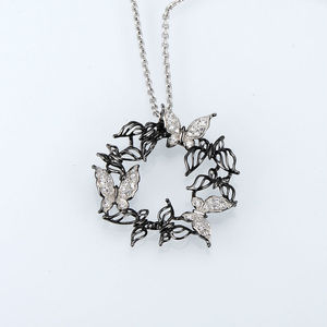 Image 4 - Santuzza Silver Necklaces Pendants For Women Natural Stone Pendant fit for Necklace 925 Sterling Silver Slide Necklaces Pendant