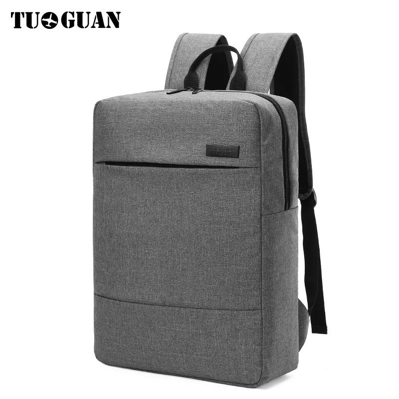 TUGUAN Brand Men 15.6 inch Laptop Backpack School Travel Bagpack Notebook Computer Book Bag for College Student