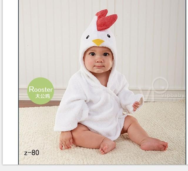 Bebé apoyos de la fotografía infantil gallo pollo animal costume ropa estudio nuevo 2016