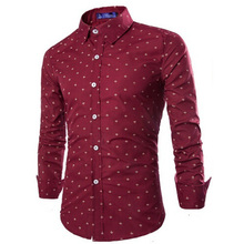 ZOGAA 2019 Hot Sale Formal Casual Slim Fit Mens Longsleeved Cotton Shirts Multi-color Business Office Wear with 5 Color