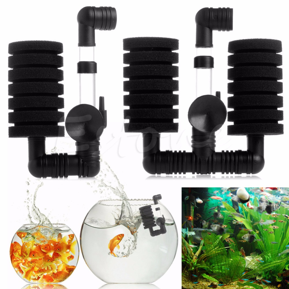 Aquarium fish tank air pump biochemical sponge filter - A96 New Practical Aquarium Biochemical Sponge Filter Fish Tank Air Pump Useful Hot Xy