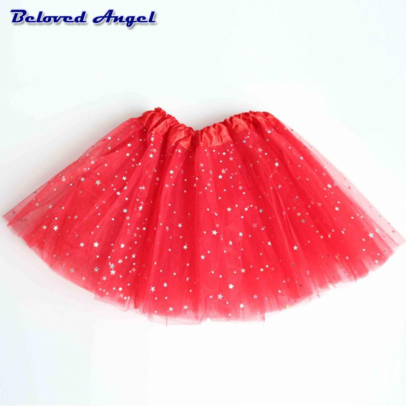 Fluffy Chiffon Tulle tutu skirt colorful cheap girl skirt dance skirt Baby Girl Clothes kids Clothing Birthday Gift Party Wear 4