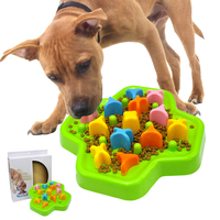Interactive Dog Toys Pet IQ Treat Food Toy Dog Training Toys Puzzle Educational Anti Choke Feeder Bowl For Dogs Cat Playing Game