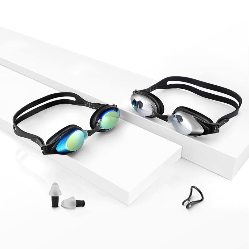 Original Xiaomi Mijia Yunmai Swimming Goggles Set HD Anti fog Nose Stump Earplugs Silicone Swimming Glass in Smart Remote Control from Consumer Electronics