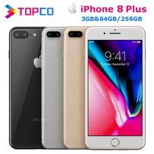 """Apple iPhone 8 Plus заводской разблокированный мобильный телефон 4G LTE 5,"""" шестиядерный A11 двойной 12 МП ОЗУ 3 Гб ПЗУ 64 Гб/256 ГБ NFC"""