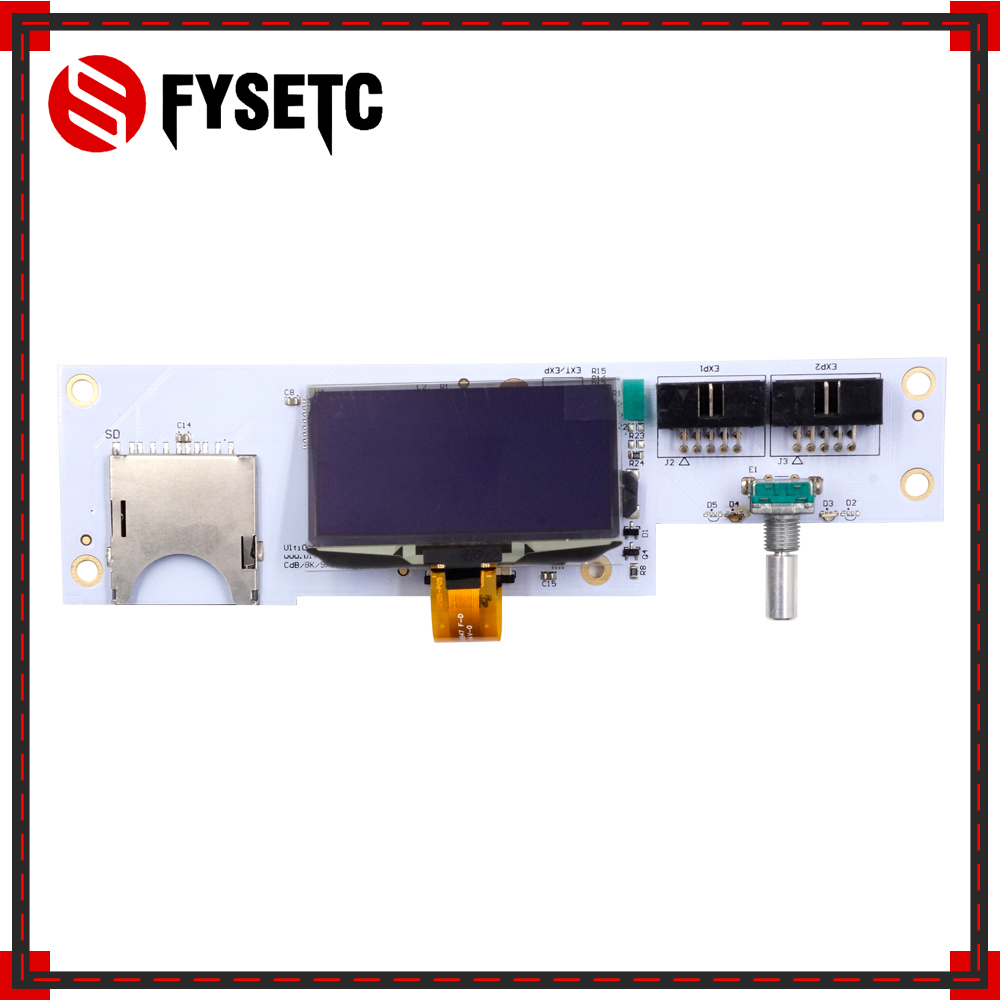 Full Set UM2 Ultimaker 2 Controller Board Adapter Plate+Main Board LCD Display Kit Control Panel For Ultimaker 3d Printer Parts wit color 3312 3308 optical adapter board printer parts