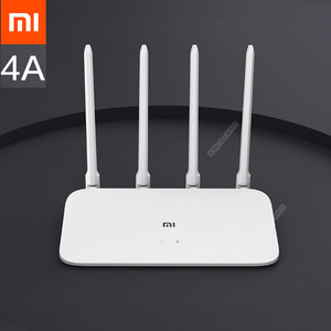 Image 1 - Xiaomi mi roteador 4a, versão gigabit 2.4ghz 5ghz wifi 1167mbps wifi repetidor 128mb ddr3 ganho alto extensor de rede 4 antenas