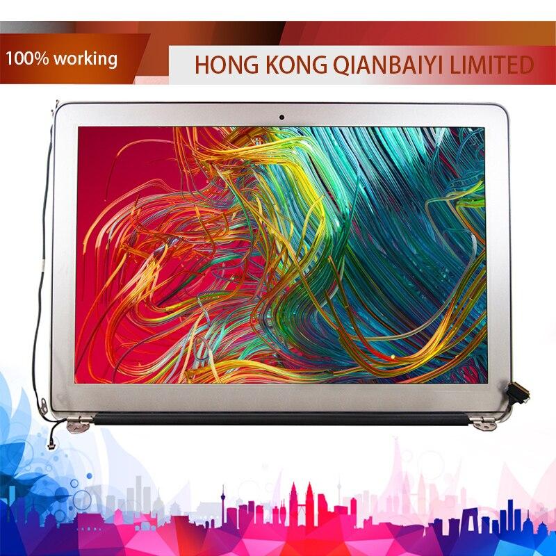 100% Nouveau A1466 Assemblée LCD pour MacBook Air 13 A1466 LCD Assemblée de L'écran D'affichage 2013 2014 2015 Année
