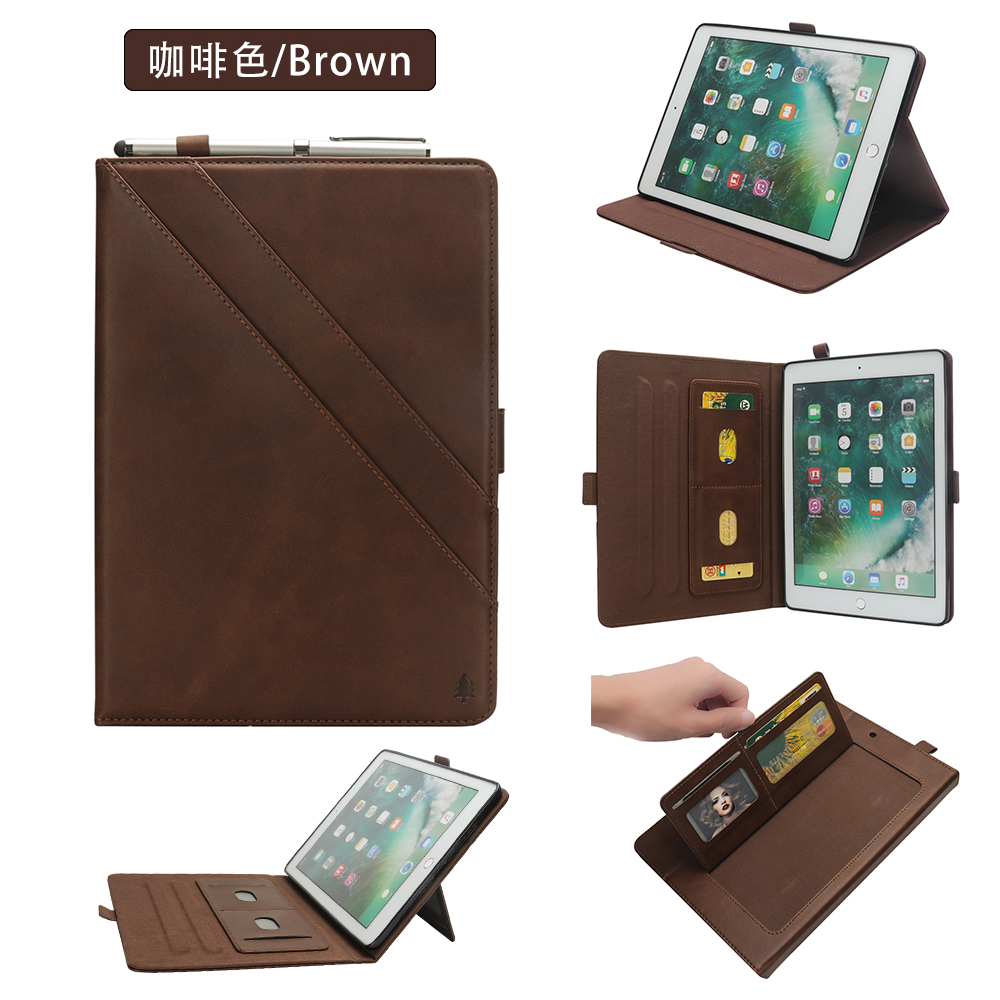 Auto Wake Up/Sleep Function Stand Smart Cover For Apple Ipad Pro 12.9 A1584 A1652 High Quality PU Leather Case+gifts