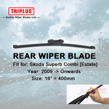 Rear Wiper Blade for Skoda Superb Combi (2009-Onwards) 1pc 16