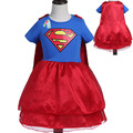 Kids dress for Girls 2017 girls summer Short sleeve cute toddler girl Christmas costumes princess costume baby clothing tutus
