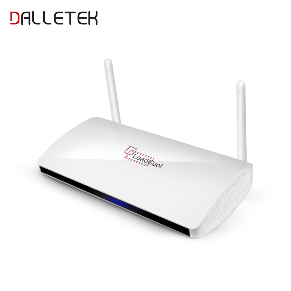 Dalletektv Leadcool Android TV Box Full HD 1080P Quad Core RAM 1G Smart Set Top Box DLNA 4K 3D Build In Wifi STB