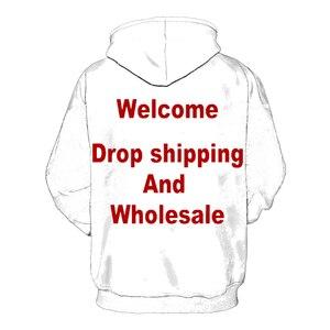 Image 2 - 3D Print Diy Custom Design Mens Womens Clothing Hip Hop Sweatshirt Hoodies Drop Shipping Wholesalers Suppliers For  Drop Shipper