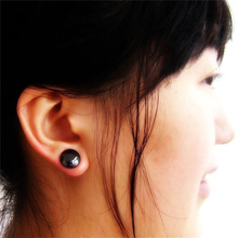 1 Pair Healthy Magnetic Therapy Weight Loss Earrings Magnet In Ear Eyesight Slimming Stimulating Acupoints Stud Earring Bio