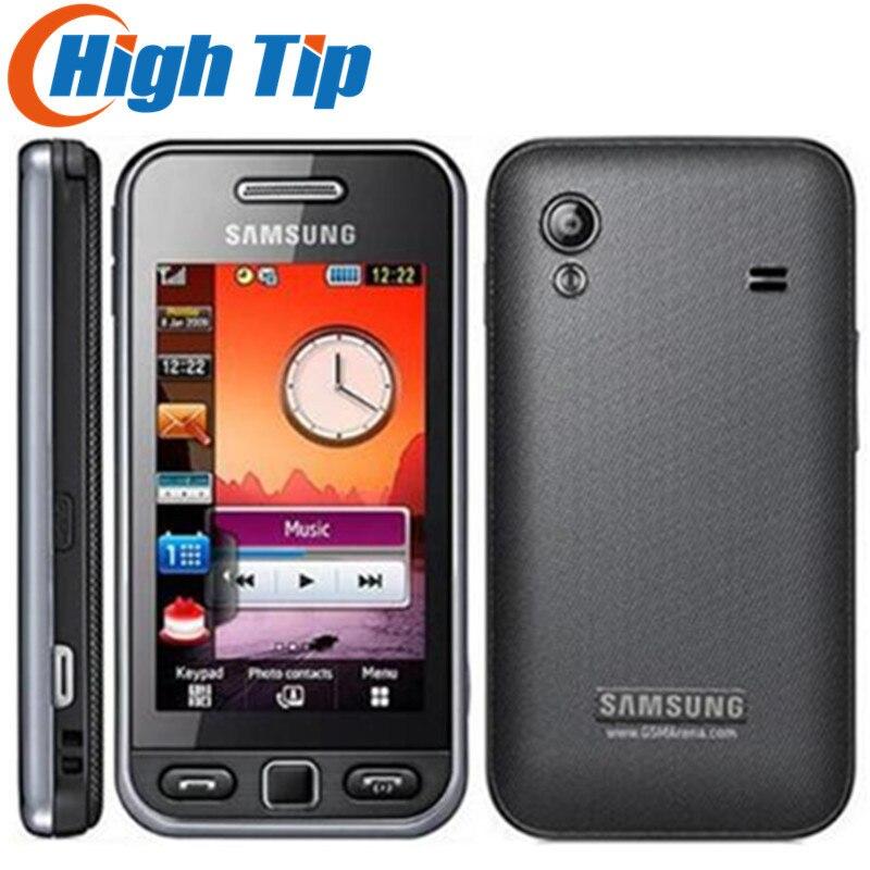SAMSUNG S5230c Unlocked 2gb GSM Refurbished Cellphone Mobile Original Touchscreen Bluetooth