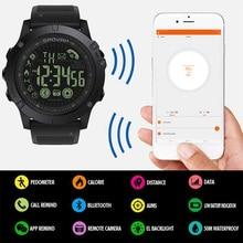 купить Smart Digital Watch Men Waterproof Sport Watch Male Clock LED Digital Sports Stopwatch Bluetooth Wrist Watch G Shock дешево