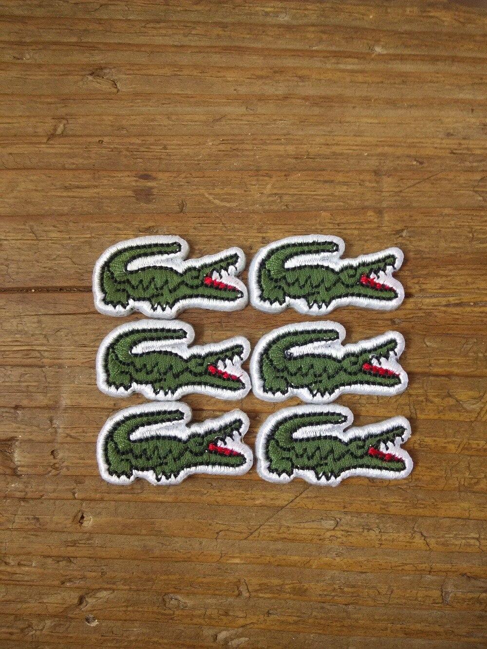 iron on patch patchs Crocodile Alligator Applique Badge (300pcs a ...