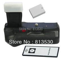 Aperto Da Bateria + IR Remote Control + LP-E8 BG-E8 Bateria para câmera Canon EOS 550D, 600D, 650D, 700D, Rebel Beijo X4 T2i, T3i, T4i Câmeras.
